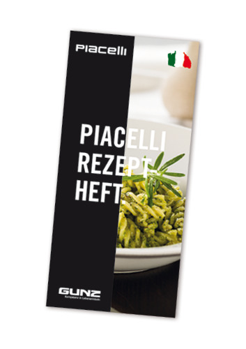 Piacelli - the recipes - DE